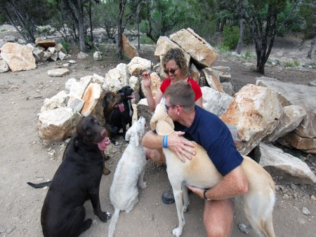 Image of A to Z Dog Ranch which provides dog boarding in or near Spicewood, TX